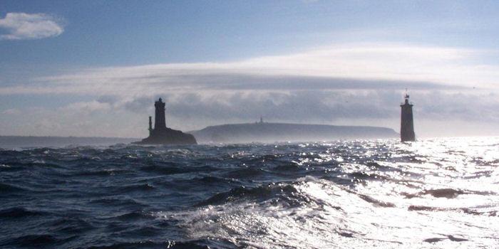 Raz de Sain lighthouse Btittany France